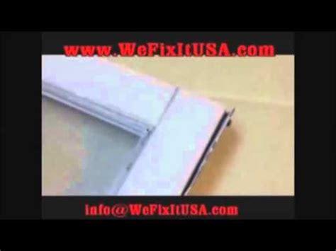 part  biltbest oldach pella metal clad door window casement sash frame diy repair  youtube
