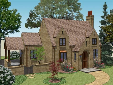Tiny Romantic Cottage House Plan English Cottage House