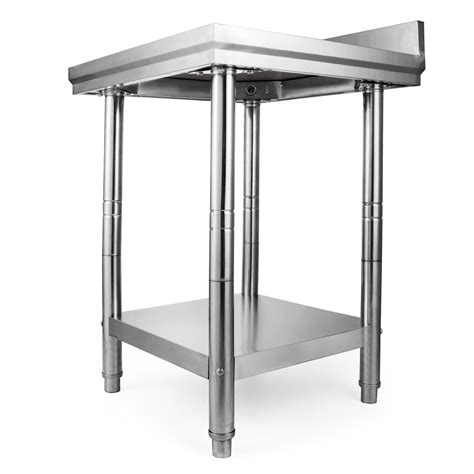 """24"""" X 24"""" Stainless Steel Kitchen Work Table Commercial"""