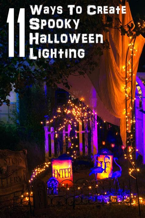 (we live in ca, so it. Halloween Outdoor Lighting Ideas: 21 Spooky Ways To Light Your Yard - Entertaining Diva @ From ...