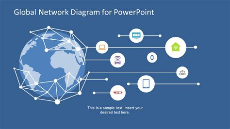 global network concept  powerpoint slidemodel