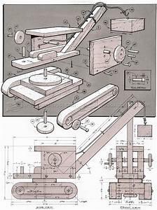 Wooden Toy Crane Plans • WoodArchivist