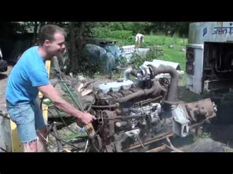 volvo bus diesel engine td  turbo  youtube