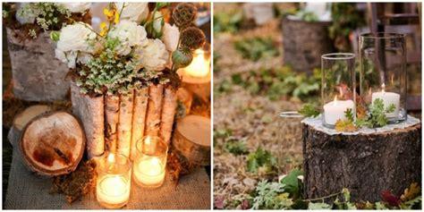 decoration mariage nature bois