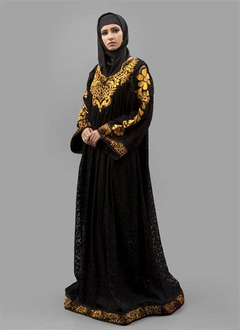 Maxi Arabian buy black thread work velvet brasso fabric islamic maxi