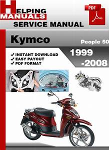 Kymco Like 50 Service Manual