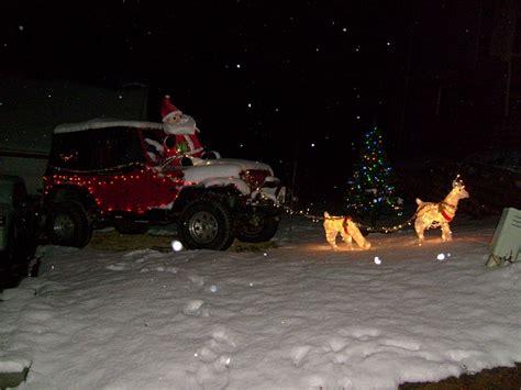 christmas jeep decorations christmas jeep jeep cherokee forum
