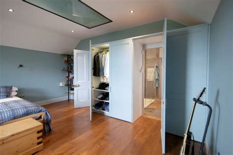 Bedroom Ensuite Wardrobe by Fitted Wardrobes With A Secret Door