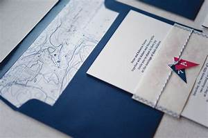 anneke austin39s nautical inspired wedding invitations With nautical chart wedding invitations