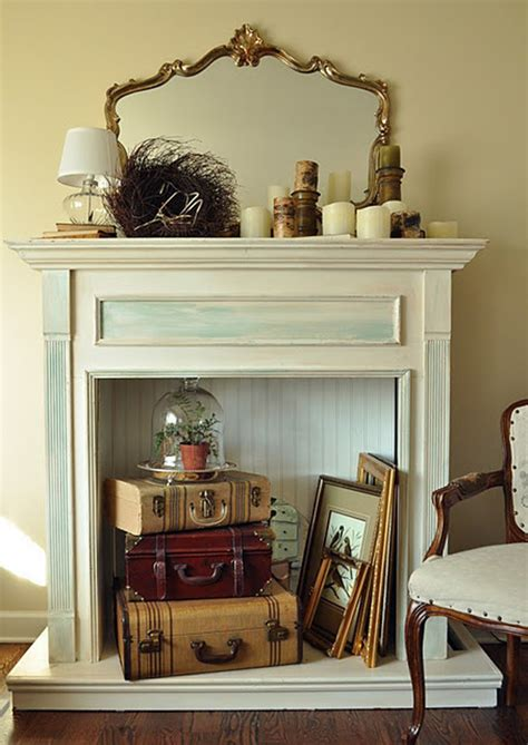 empty fireplace decorations 10 creative ways to decorate your non working fireplace freshome com