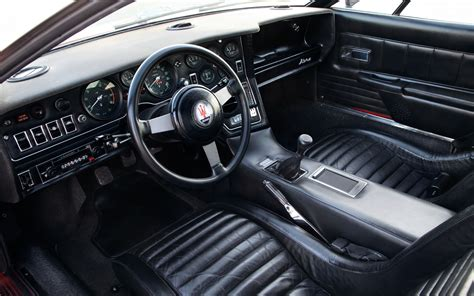 Auto Interior by Collectible Classic 1971 1978 Maserati Bora Automobile