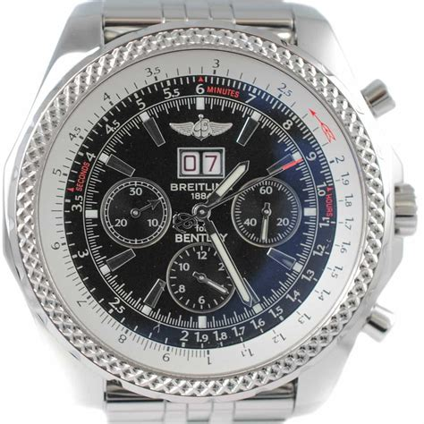 bentley breitling the breitling for bentley 6 75 chronograph is the