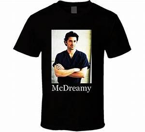 Yhxsg Mcdreamy Patrick Dempsey Greys Anatomy T Shirt ...