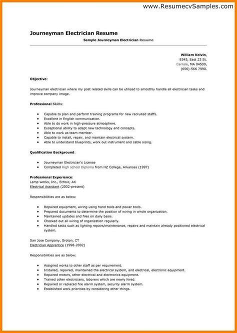 9 electrician resume skills defense