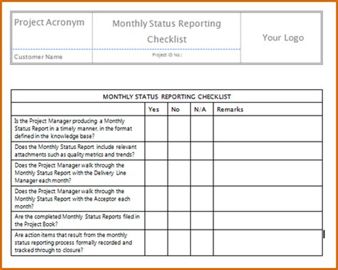 monthly report template authorizationlettersorg