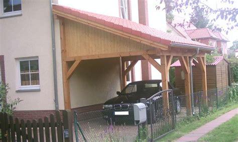 Pultdach Carports & Holzgaragen Als Individueller Bausatz