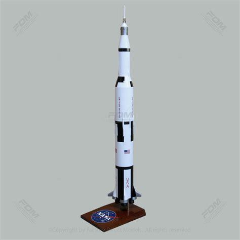 33 Inches Tall NASA Saturn V Rocket Model