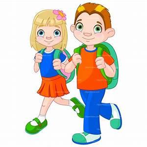 clipart of school children - Jaxstorm.realverse.us