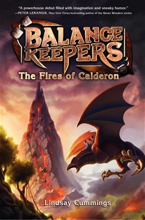 fires  calderon  balance keepers   lindsay cummings reviews discussion