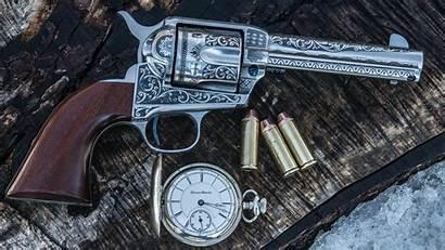 Revolver Wallpapers Gun Pocket Antique Backiee Landscape
