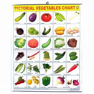 Large Vegetables-Poster (57 x 45cm) for the Wall - Colored