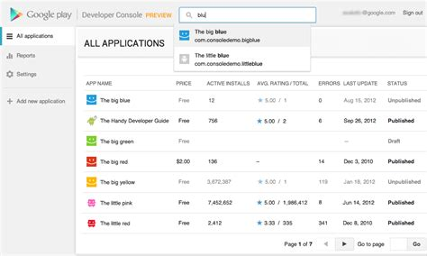 App Developer Console by Shiny New Reved Play Developer Console Now