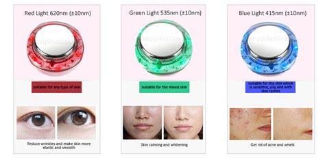 Personal use Galvanic Photon Facial Skin Beauty Device