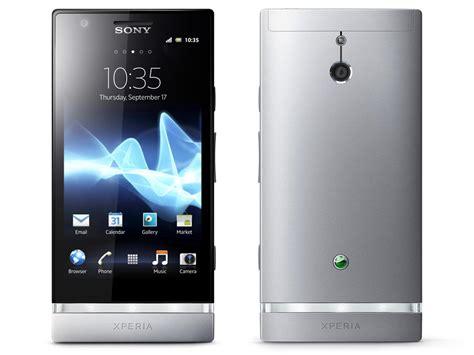 sony xperia phone sony xperia p android phones announced gadgetsin