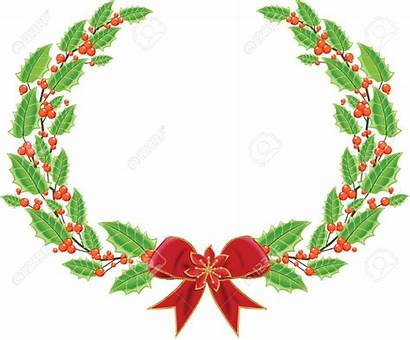 Holly Wreath Clipart Clipground