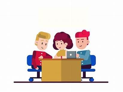 Teamwork Manpower Dribbble Animation Deekay Animated Powerpoint