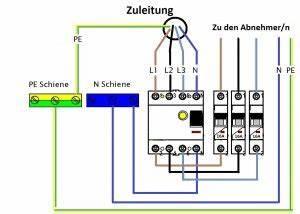 Fi Schalter Anklemmen : richtige verdratung fi schalter sicherung ~ A.2002-acura-tl-radio.info Haus und Dekorationen