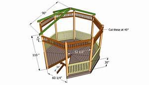 Free Gazebo Blueprints : Garden Shed Plans By Lr Designs