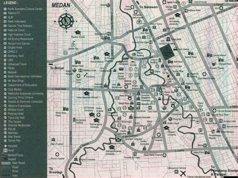 map  sumatra sumatera  street map   city