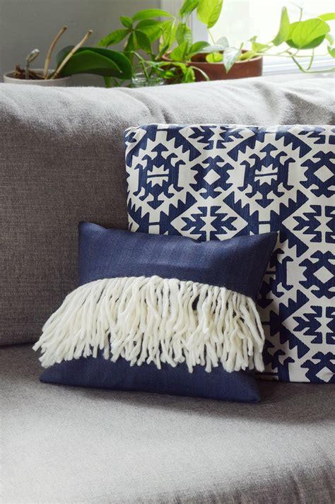 boho pillow covers diy boho fringe pillow cover