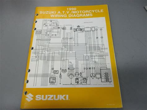 Suzuki Oem Atv Motorcycle Wiring Diagrams