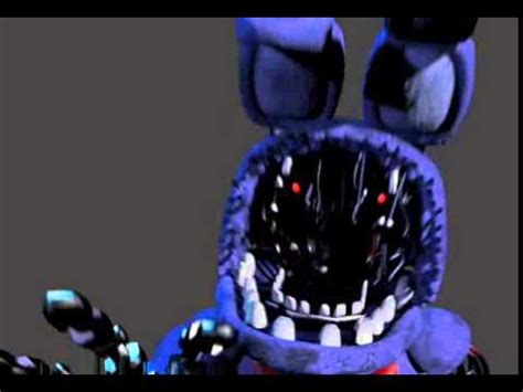 withered bonnie jumpscare youtube