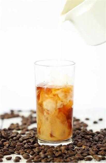 Honey Coffee Cold Brew Vanilla Iced Drinking