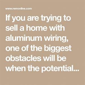 Dealing With Aluminum Wiring