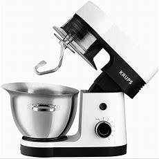 Krups Küchenmaschine Perfect Mix 9000 Weißedelstahl