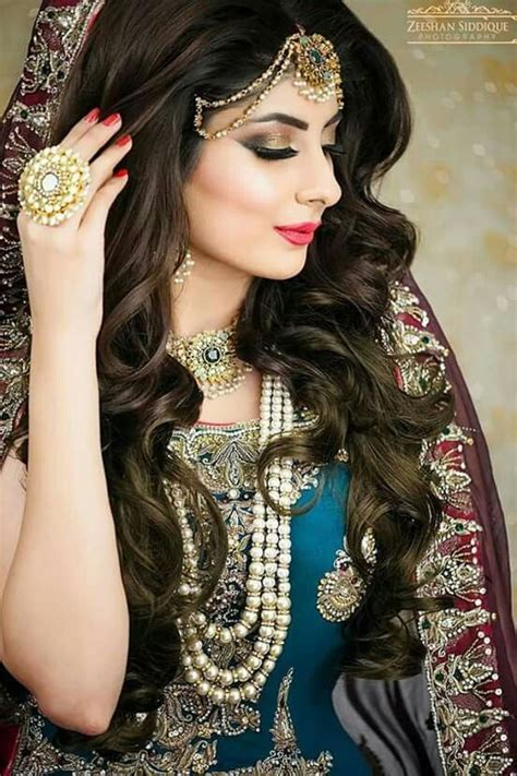 pakistani bridal hairstyles   wedding