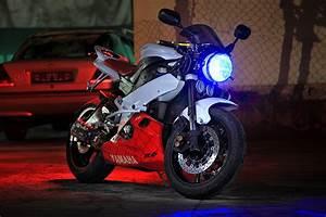 2003 Yamaha R6 Streetfighter - Motorcycle Wallpaper