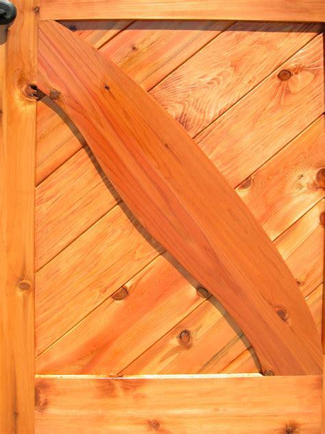 cross buck door custom wood doors  cabins lodges