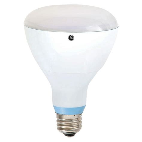 ge 65w equivalent reveal 2 700k br30 dimmable led flood