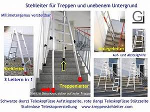 Leiter Für Treppenstufen : teleskopleiter leiter f r treppen teleskopleitern ~ A.2002-acura-tl-radio.info Haus und Dekorationen