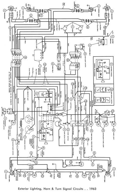1964 Ford Falcon Wiper Wiring Diagram by Falcon Wiring Diagrams