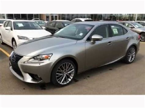 cool lexus is250 2015 lexus is 250 luxury package awd silver lease