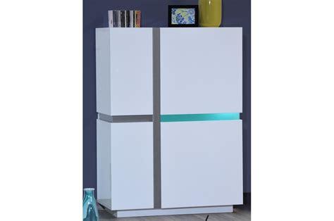 meuble haut blanc laque meuble de rangement haut laqu 233 trendymobilier