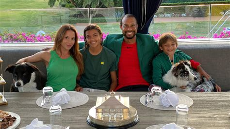 Can Tiger Woods's kids play golf? See the family practice ...