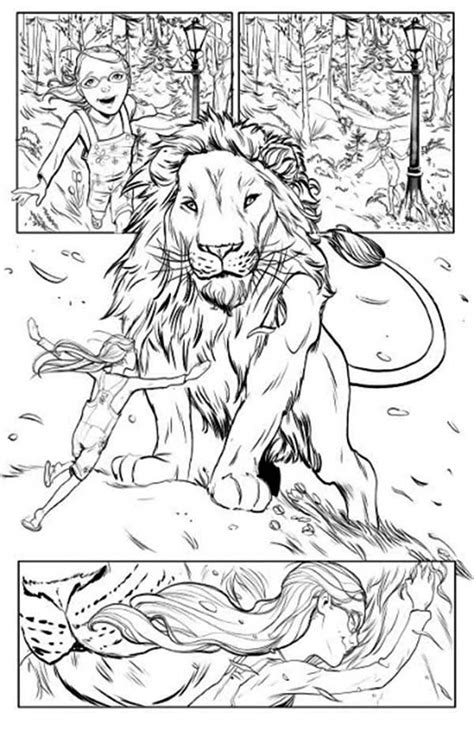 narnia coloring pages    print