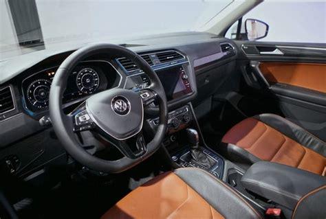 volkswagen tiguan 2018 interior 2018 vw tiguan release date auto fave